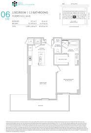floor plans of brickell city centre condo miami
