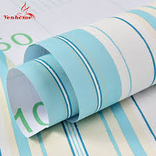 online get cheap striped wall stickers aliexpress com alibaba group 3m 6m modern striped wallpaper roll mural decorative self adhesive wall paper for living room bedroom waterproof wall stickers