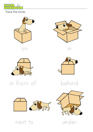 prepositions of place worksheet printable preposition worksheets