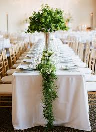 cheap garlands for weddings best 25 green centerpieces ideas on greenery