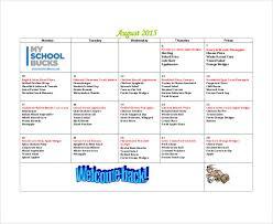 sample calendar sample planning calendar healthsource