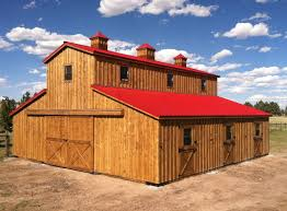 Shed Row Barns For Sale Modular Horse Barns From Teton Structures In Cheyenne Wy