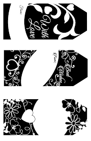 Wedding Gift Tags Wedding Gift Tags Clear Stamps