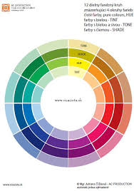 color wheel for makeup artists basic color wheel every colour has many apperances tints are