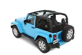 teal jeep wrangler bestop 56852 35 trektop nx plus in black diamond for 07 17 jeep