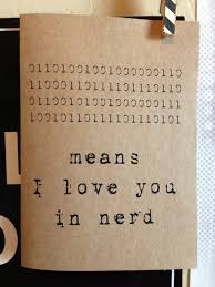 means i love you in nerd binary code computer language love
