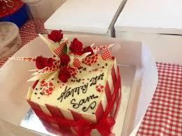 3 layer red velvet birthday cake picture of 2 tarts baking