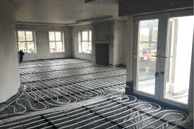 air source heat pump underfloor heating install armagh nutech