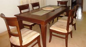 Teak Wood Dining Tables Teak Wood Dining Table For Sale In Bangalore Dining Table Set