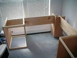 Floating Desk Plans Desk How To Make A Corner Floating Desk How To Build A Corner