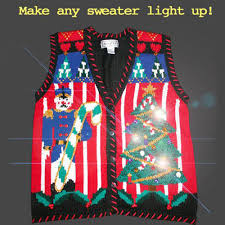 sweaters that light up light up your or sweater with battery