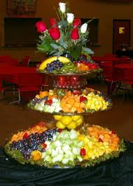 wedding platter image of fruit platter for wedding weddings space saver