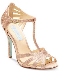 wedding shoes macys blue by betsey johnson evening sandals women macy s