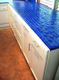 Blue Kitchen Countertops - décor trend 24 tile kitchen countertops digsdigs