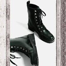 womens boots zara zara lace up ankle boots for ebay