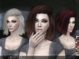 sims 4 hair stealthic high life female hair