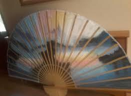 oriental fan wall hanging very large oriental fan wall hanging and oriental for sale in
