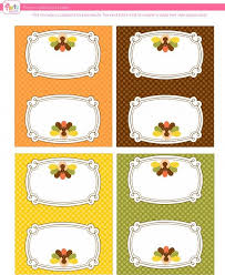 thanksgiving name card templates u2013 happy thanksgiving