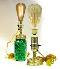 antique edison style light bulb lamp kits national artcraft