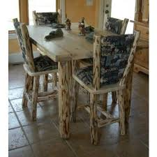 Pine Dining Chair Log Dining Chairs