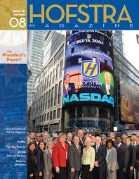 Hofstra Campus Map Hofstra Magazine President U0027s Report 2009 By Hofstra University