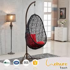 round rattan bird nest balcony outdoor indoor egg wicker hanging