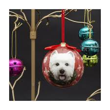 west highland terrier tree bauble westie decorations