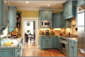 Contemporary Chalk Painted Kitchen Cabinets Finished Painting - Painting kitchen cabinets chalkboard paint