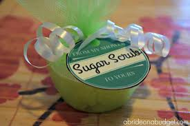 mint to be favors mint sugar scrub bridal shower favors a on a budget