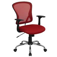 Executive Office Chair Design Elegant And Cozy Red Desk Chair U2014 The Home Redesign