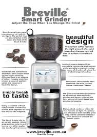 Coffee Grinder Tray A Review Of Breville U0027s Smartest Grinder U2013 Bcg800xl U2013 The Coffee