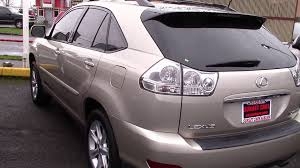 2008 lexus hybrid suv for sale 2008 lexus rx 350 stock 95993 at sunset cars of auburn youtube