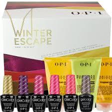 new 2014 opi gel color winter escape mani pedi soak off nail