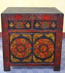 credenza tibetana credenze etniche cassettiere e madie cinesi tibetane e mongole