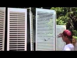 Painting Interior Painting Interior Shutters Benjamin Moore Paints Youtube