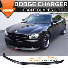 2010 dodge charger spoiler 05 10 dodge charger oe factory style front bumper lip unpainted