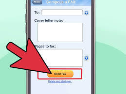 how to make a cover letter for a fax 3 ways to fax wikihow