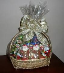 ready made cellophane gift bags for wrapping gift baskets