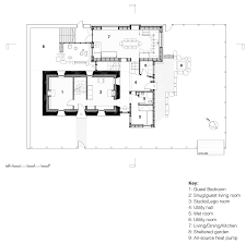 house no 7 cottage on the isle of tiree by denizen works ground floor plan of house no 7 by denizen works