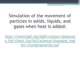 how do particles behave in the four states of matter ppt video