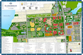 International Mall Map Campus Map Old Dominion University