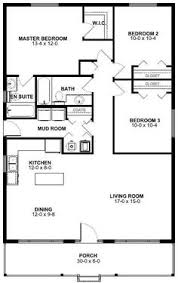 three bedroom floor plans floor plan for a small house 1 150 sf with 3 bedrooms and 2 baths