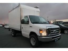 ford e series box truck standard cab ford box truck trucks for sale 907