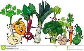 funny vegetables clipart clipartxtras