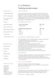 sample of resume of teacher preschool teacher resume template free