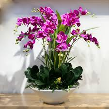 silk orchids silk orchids silk flowers artificial flower arrangement singapore