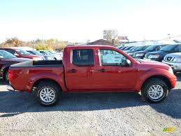 frontier nissan 2016 2016 lava red nissan frontier sv crew cab 4x4 108402838 photo 7