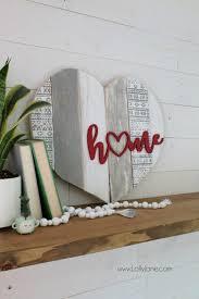 art home decor home stenciled pallet heart home decor lolly jane