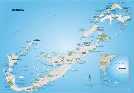 Bermuda Triangle Map Bermuda