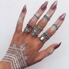 white henna animal tattoos pinterest white henna hennas and